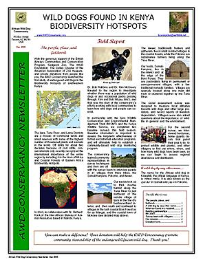 AWD Conservancy Newsletter